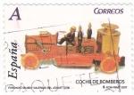 Stamps Spain -  Fundació Museu Valencia del joguet-coche de bomberos (12)