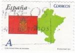 Sellos de Europa - España -  COMUNIDAD FORAL DE NAVARRA -Autonomías españolas (12)