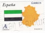 Stamps Spain -  EXTREMADURA-Autonomías españolas (12)