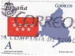 Stamps Spain -  COMUNIDAD DE MADRID -Autonomías españolas (12)