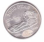 monedas del Mundo : Europa : España :  250 aniv. goya