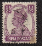 Sellos del Mundo : Asia : India : King George VI