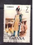 Sellos de Europa - España -  zapador rgto. Real de Ingenieros 1809