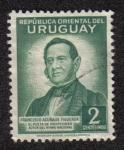 Sellos de America - Uruguay -  Francisco Acuna de Figueroa