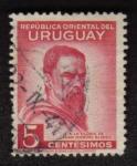 Sellos del Mundo : America : Uruguay : Juan Manuel Blanes