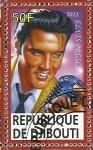 Stamps Africa - Djibouti -  Elvis Presley