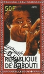 Stamps Africa - Djibouti -  Louis Armstrong