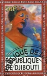 Stamps Africa - Djibouti -  Ella Fitzgerald