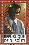 Stamps Africa - Djibouti -  Chuck Berry