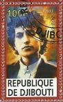 Stamps Africa - Djibouti -  Bob Dylan
