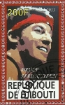 Stamps Africa - Djibouti -  Bruce Springsteen