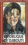 Stamps Africa - Djibouti -  Michael Jackson