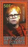 Stamps Africa - Djibouti -  Elton John