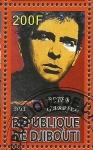 Stamps Africa - Djibouti -  Peter Gabriel