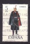 Stamps Spain -  Capitan de ingenieros 1921