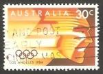 Sellos de Oceania - Australia -  872 - Olimpiadas de Los Angeles
