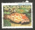 Stamps Australia -  Pez