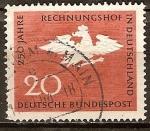 Sellos del Mundo : Europa : Alemania : 250a Aniv del Tribunal de Cuentas alemán.