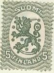 Stamps Finland -  Emisión de Helsinki - León rampante