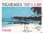 Sellos de America - Nicaragua -  Corn Island -TURISMO