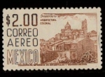 Stamps of the world : Mexico :  guerreros arquitectura colonial