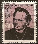 Sellos del Mundo : Europa : Alemania : Centenario del nacimiento de Nathan Soderblom (teólogo y arzobispo de Suecia).