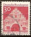 Sellos de Europa - Alemania -  Puerta Norte en Flensburg (b).