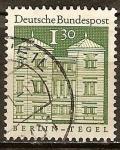 Sellos de Europa - Alemania -  Castillo de Tegel en Berlin (dif) (b)