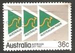 Stamps Australia -  985 - Día nacional