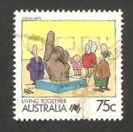 Stamps Australia -  1075 - Arte visual