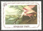 Stamps Haiti -  Fauna, ajaia ajaja