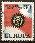 Sellos del Mundo : Europa : Alemania : Europa-CEPT.