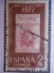 Stamps Spain -  Ed. 2076 - Año Internacional del Libro y la Lectura.