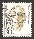 Stamps Germany -  1320 - Käthe Kollwitz, pintora y arquitecto