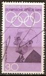 Sellos de Europa - Alemania -  Pierre de Coubertin (fundador de los Juegos Olímpicos modernos).