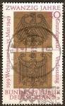 Sellos de Europa - Alemania -  20a de la RFA 1919 Constitución de Weimar, 23 05 1949 Ley Fundamental.
