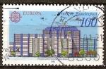 Sellos de Europa - Alemania -  Europa-CEPT.(oficina de correos en Frankfürt am Main).