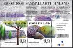 Stamps of the world : Finland :  FINLANDIA - - Sitio funerario de la Edad del Bronce de Sammallahdenmäki