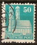 Sellos de Europa - Alemania -  Catedral de Nuestra Señora de Múnich.Ocupación aliada general.