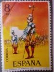Stamps Spain -  Ed.2143-Uniformes Militares (Nº5)-Sargento de Infantería 1567.