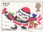 Stamps United Kingdom -  Ilustración navideña