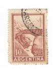 Sellos del Mundo : America : Argentina : Mendoza.Puente del Inca