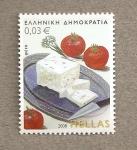 Sellos del Mundo : Europa : Grecia :  Alimentos de Grecia