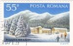 Stamps Romania -  Estación de esquí de Poiana Brasov