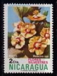 Sellos del Mundo : America : Nicaragua : 962- Flores
