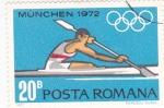 Sellos de Europa - Rumania -  Munich-72