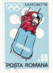 Sellos de Europa - Rumania -  Olimpiada de invierno Sapporo-72