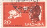 Stamps Romania -  Pionero de la aviación-Aurel Vlaicu