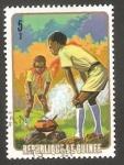 Sellos de Africa - Guinea -  Boy scouts