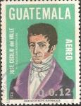 Sellos de America - Guatemala -  JOS�  CECILIO  DEL  VALLE